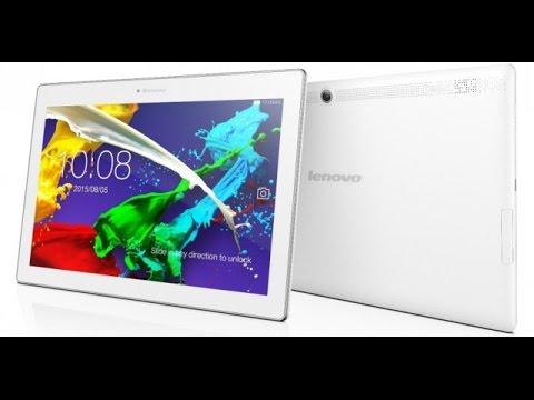 Lenovo Tab 2 A10-30 wifi white (7000mAh) unboxing
