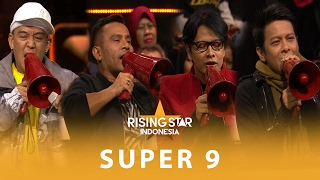 Video Kerennya Agung, Ariel, Judika, dan Armand Bawain Lagu Rock | Super 9 | Rising Star Indonesia 2016 MP3, 3GP, MP4, WEBM, AVI, FLV Maret 2018