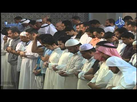 180 ألف مصل خلف مشاري العفاسي في المسجد الكبير