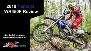 7. 2019 Yamaha WR450F Full Review