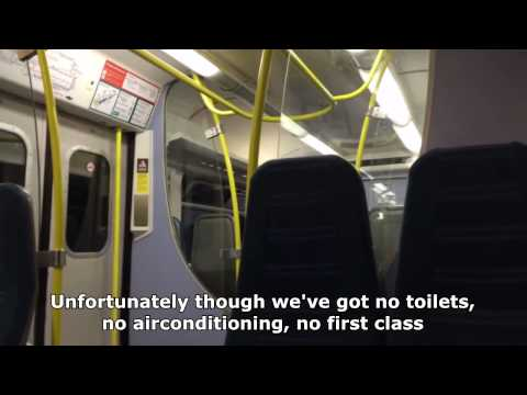 Best Train Driver Announcement