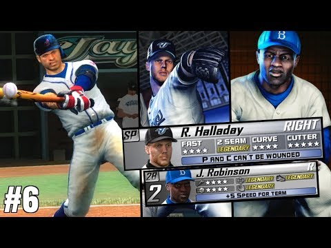 WE STOLE ROY HALLADAY & JACKIE ROBINSON MISSION! BECOME A LEGEND EP. 6 - The Bigs 2 Gameplay