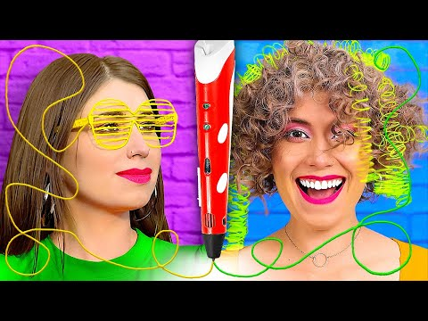 25 3D PEN AND HOT GLUE GUN IDEAS FOR YOUR STYLE