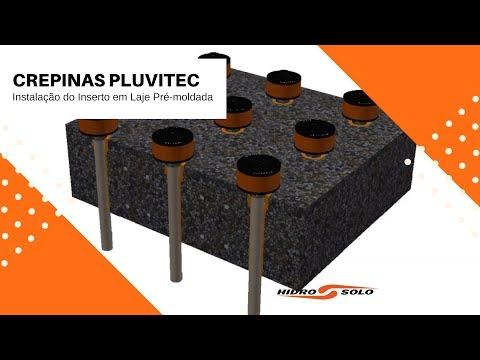 Hidro Solo - PLUVITEC Crepes - Precast Slab Insert Installation