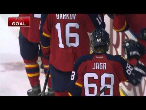 Video: Gotta See It: Jagr schools Schultz, sets up Huberdeau goal