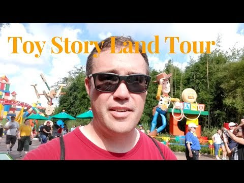 Tour of Toy Story Land