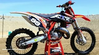 8. Project 2015 KTM 150 SX 2 stroke - Motocross Action Magazine
