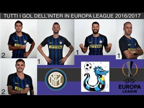 Tutti i gol fatti dall'Inter in Europa League 2016/2017 #InterPerSempre