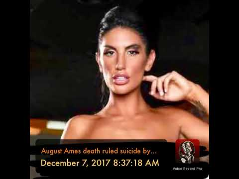 August Ames death ruled suicide by hanging