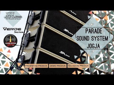 Verde Series!!! Spl Audio Demo Sound Syawalan 1440h Bantul 26 - 27 Juni 2019