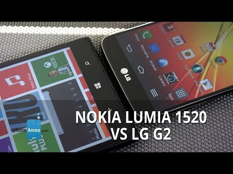 phonearena - For more details, check out our web site: http://www.phonearena.com/reviews/Nokia-Lumia-1520-vs-LG-G2_id3517 You'd think they would have a new offering to co...