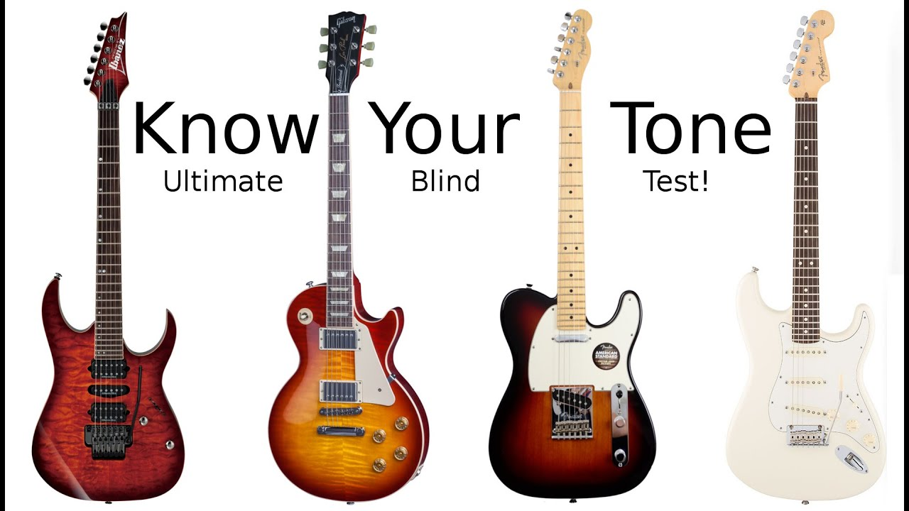 Know Your Tone – Blind Test Guitar Challenge!