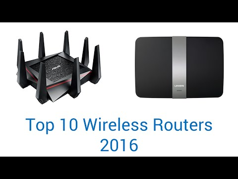 10 Best Wireless Routers 2016