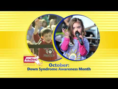 Watch video Down Syndrome Awareness Month
