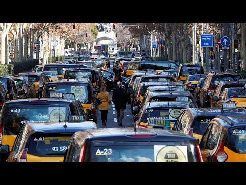 Taxi-Streik: Neue Regeln für Uber & Co in Barcelona