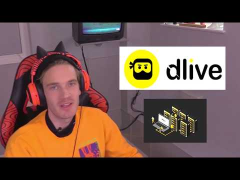 PewDiePie Joins DLive Family