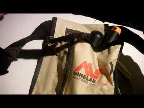 Minelab beach pouch.