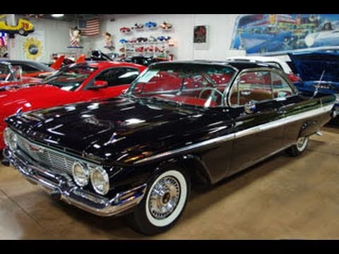 1961 Chevy Impala 2 dr Bubble Top – Beautifully Restored Classic Hot Rod