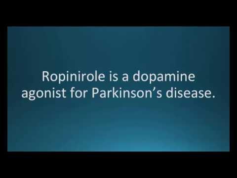 How to pronounce ropinirole (Requip) (Memorizing Pharmacology Flashcard)