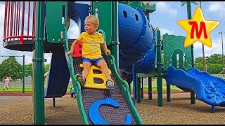 Favorite and Best Playgrounds Nursery Rhymes Songs Compilation Max Goes on Big Slides Old Macdonald