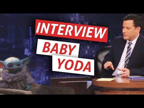 Baby Yoda Talks About The Mandalorian