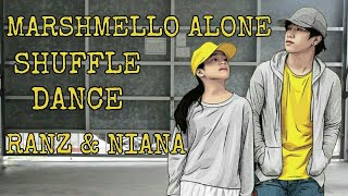 Ranz and Niana | MARSHMELLO ALONE SHUFFLE DANCE HD