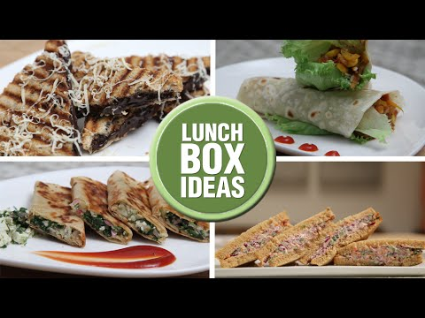 Lunch Box Ideas – Back To School – Easy To Make Lunch Box Recipes