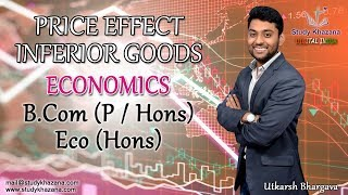 In this video, you will learn:1) Meaning of Inferior goods2)  Recap Substitution Effect and Income Effect3) Effect on Inferior Goods as the price increases4) Effect on Inferior Goods as the price decreases5) Analyze graphs and study cases for better understanding Mr. Utkarsh Bhargava is Economics honors graduate from Delhi University and Masters in Economics. He is a central government awardee for his excellent results in 2015. He is an official CBSE subject expert and NCERT resource person and PGT Economics at Mayo International school since 2014.To watch more tutorials visit: https://www.youtube.com/c/StudyKhazana** Stay Connected with Us **Full Course Available on (Study Khazana) login at http://studykhazana.com/Contact Us : +91 8527697924Mail Us: mail@studykhazana.com