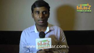 Srinivas Loganathan at Aaah Movie Press Meet