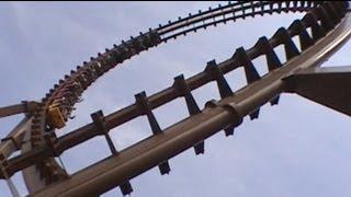 Son of Beast Looping Wooden Roller Coaster Onride POV Offride Shots Kings Island