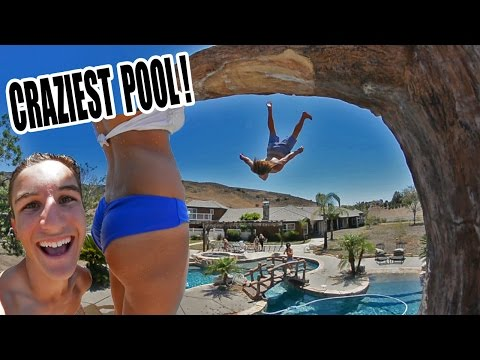 Video INSANE MANSION POOL PARTY! download in MP3, 3GP, MP4, WEBM, AVI, FLV January 2017