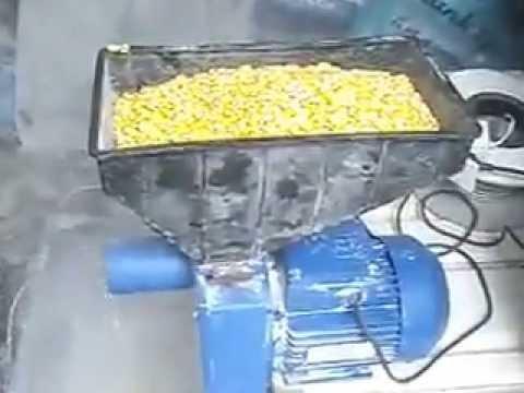 Зернодробилка для дома своими руками