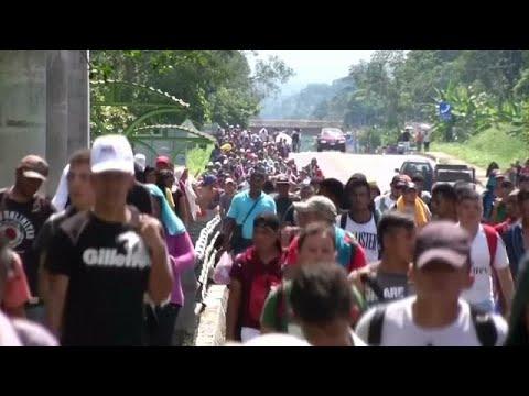 Πλησιάζει τις ΗΠΑ το καραβάνι των 7.000 μεταναστών, απειλεί ο Τραμπ…