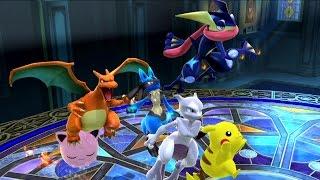 20th Anniversary – A Pokemon Montage (Smash Bros Wii U)