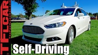 We don't Drive Ford's Self-Driving Fusion Hybrid: Everything You Ever Wanted to Know by The Fast Lane Car