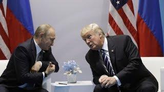 """川普终于在20国首脑峰会见了普京,""""双普会""""对正在火热的朝鲜洲际导弹危机有何作用?川普离""""干掉""""金正恩的终极行动还剩多少时间?"""