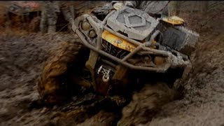10. Can-Am Outlander XMR vs Arctic Cat Mud Pro: Rematch!