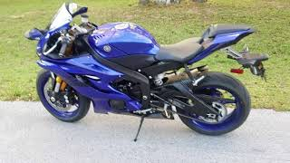 1. 2018 New Yamaha R6