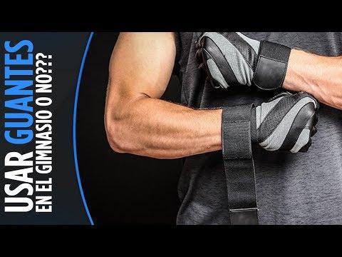 ¿Usar o no usar guantes en el entrenamiento con pesas?