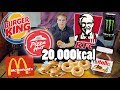 20,000 KCAL CHALLENGE | [Epic Cheat Day]