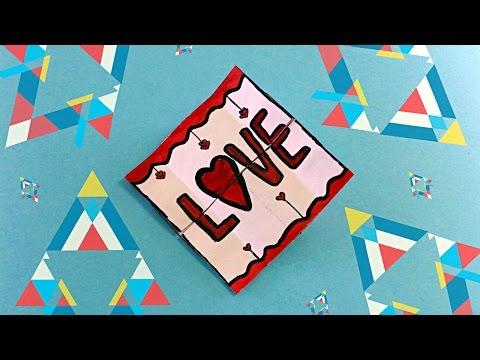 Чехлы на айфонОригинальная валентинка своими руками