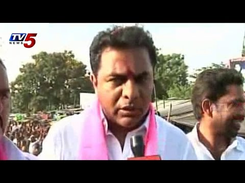 KTR Medak By Poll Campaign | KTR Face to Face with TV5 News