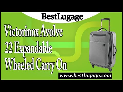 Victorinox Avolve 22 Expandable Wheeled Carry On Review