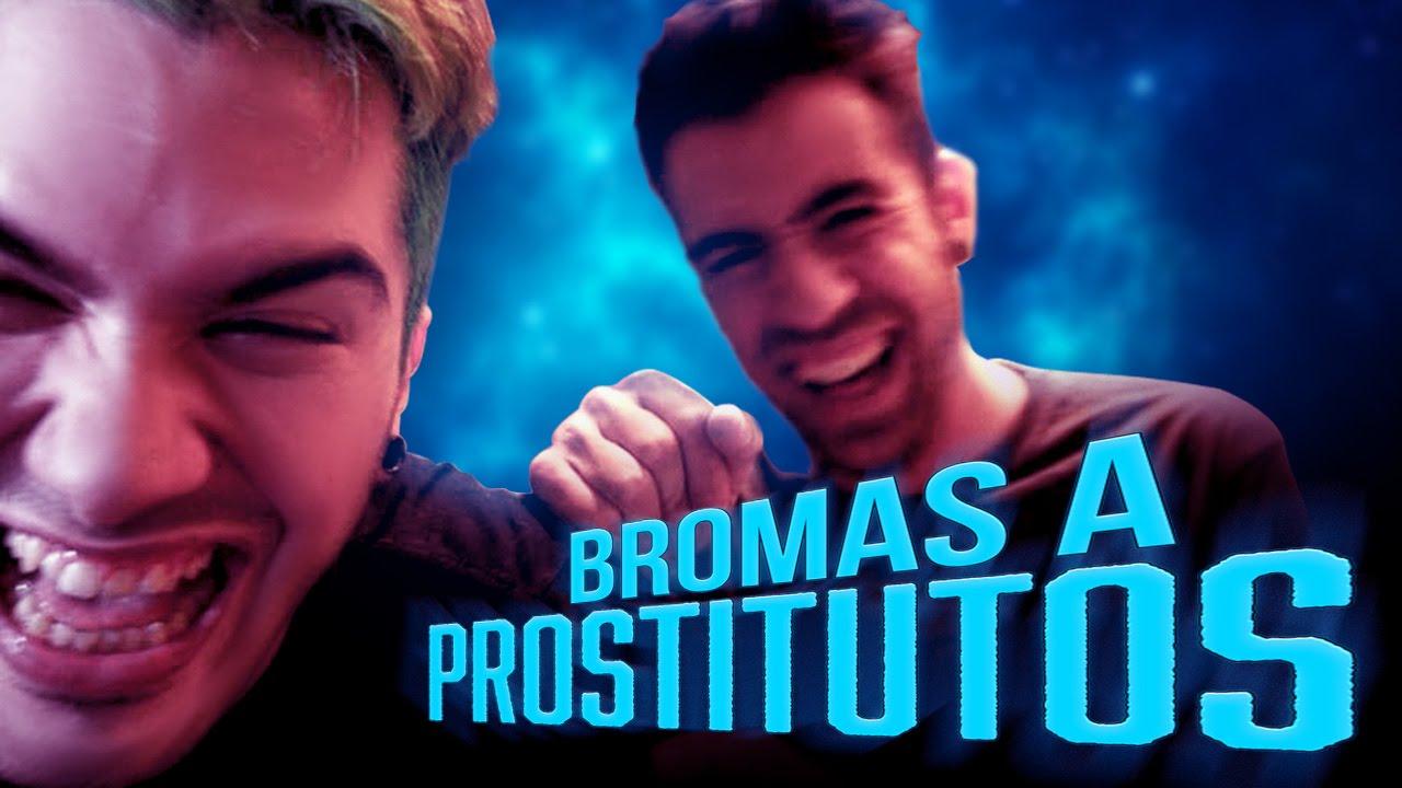 Bromas telefónicas a prostitutos.