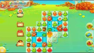 Farm Heroes Super Saga Level 416 (Hard Level) ~ No Boosters ~ 2 Stars