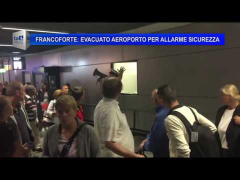 FRANCOFORTE EVACUATO AEROPORTO PER ALLARME SICUREZZA