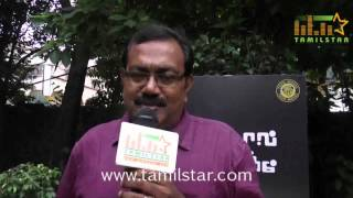 Cable Sankar at Thottal Thodarum Movie Special Screening