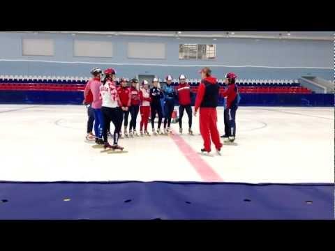Harlem Shake от российской сборной (шорт-трэк)