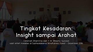 Video Ceramah Dhamma | Tingkat Kesadaran - Insight, Sotapanna, Arahat: Y.M. Bhikkhu Gunasiri MP3, 3GP, MP4, WEBM, AVI, FLV November 2017