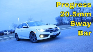 In this video, I'll share my initial thoughts on the Progress rear sway bar. There's a noticeable change in the handling characteristics of the car, which should be further enhanced when I put my summer tires on the car.Product Link: http://www.progressauto.com/products/sfID1/12/sfID2/34/sfID3/35/productID/841